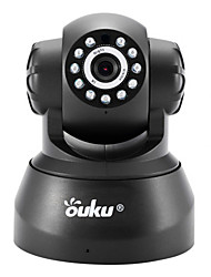 cheap -OUKU® 720P Megapixel H.264 Wireless PTZ ONVIF WiFi IP Security Camera