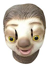 Недорогие -Маски на Хэллоуин Маскарадные маски Животная маска Поликарбонат Для вечеринок Персонаж фильма Ужасы