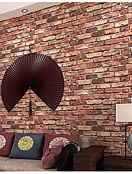 Brick Wallpaper For Home Classical Wall Covering  Non-woven fabric Material Adhesive required Wallpaper
