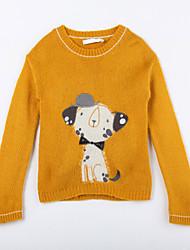 povoljno -Pamuk Životinjski uzorak Dnevno Jesen Džemper i kardigan Bijela