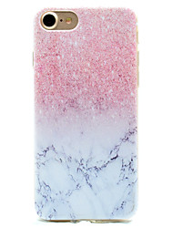 Per iPhone X iPhone 8 iPhone 7 iPhone 6 Custodia iPhone 5 Custodie cover Fantasia/disegno Custodia posteriore Custodia Effetto marmo