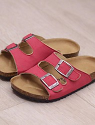 Unisex Clogs & Mules Summer Slippers Casual Flat Heel Buckle Black / Blue / Brown / Green / Red