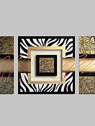 Dipinta a mano Astratto Quattro Pannelli Tela Hang-Dipinto ad olio For Decorazioni per la casa