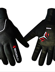cheap -Sports Gloves Bike Gloves / Cycling Gloves Keep Warm Waterproof Windproof Ultraviolet Resistant Wearproof Anti-skidding Easy-off pull tab