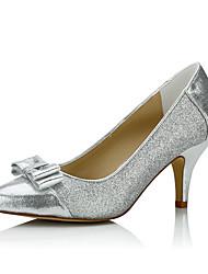 Žene Cipele Šljokice Proljeće Ljeto Udobne cipele Cipele na petu Stiletto potpetica za Vjenčanje Formalne prilike Zabava i večer Pink