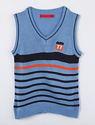 povoljno -Pamuk Color block Dnevno Jesen Džemper i kardigan Plava