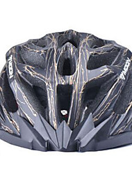 cheap -MOON Cycling Black And Golden PC/EPS 27 Vents Light Cycling Helmet