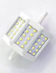 cheap -800lm R7S LED Corn Lights T 30LED LED Beads SMD 2835 Decorative Warm White / Cold White 85-265V