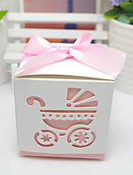 cheap -Cubic Card Paper Favor Holder With Ribbons Favor Boxes Candy Jars and Bottles Gift Boxes Cookie Bags-12