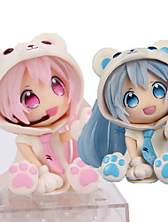 cheap -Anime Action Figures Inspired by Vocaloid Hatsune Miku PVC 7 CM Model Toys Doll Toy