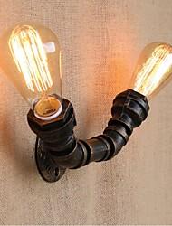 economico -ac 220v-240v 40w e27 bg806-2 nostalgia semplice tubo di acqua luce murale decorativo piccola lampada da parete