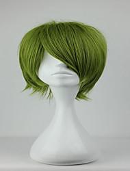 economico -Donna Parrucche sintetiche Senza tappo Riccio Verde Parrucca Cosplay Parrucca di Halloween Parrucca di carnevale costumi parrucche