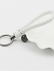 Creative Key Button Hand Woven Auto Pendant