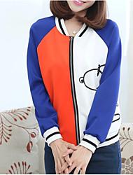 656 # Sign jacket baseball uniform tide female Korean high school students sweater cartoon Snoopy