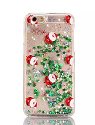 cheap -For iPhone X iPhone 8 iPhone 8 Plus iPhone 7 iPhone 6 iPhone 5 Case Case Cover Flowing Liquid Translucent Pattern Back Cover Case