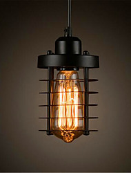 cheap -Rustic/Lodge Vintage Retro Country Mini Style LED Designers Pendant Light Ambient Light For Kitchen Dining Room Study Room/Office Entry