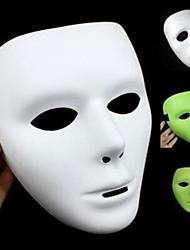 Недорогие -Хэллоуин маска wuke призрак танец светящейся маски танец белой маски танец wuke хип-хоп маски
