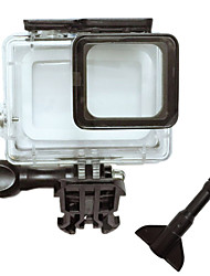 Waterproof Housing Case For Action Camera Gopro 5 Universal Snowmobiling Hunting and Fishing Boating Wakeboarding Ski/Snowboarding