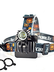 Lights Headlamps / Bike Lights / Front Bike Light LED 2500 Lumens 1 Mode Cree XM-L L2 18650 Super Light / Compact Size / Small Size