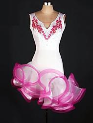 Mais Fantasias Fantasias de Cosplay Carnaval Festival/Celebração Trajes da Noite das Bruxas Rosa Verde Patchwork