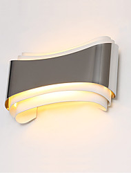 AC 85-265 5W Integreret LED Moderne/samtidig Krom Feature for LED,Atmosfærelys Væg Lamper Wall Light