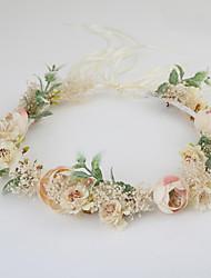 economico -ghirlande di stoffa copricapo festa di matrimonio elegante stile femminile classico