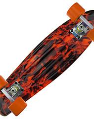 Недорогие -22 дюймы Стандартные скейтборды Офис ПП (полипропилен) ABEC-7-Оранжевый
