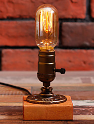 Edison Bulb Vintage Table Lamps Personalized Water Pipe Night Light Desk Lamp E27 110V-220V -FJ-DT2X2-039B0