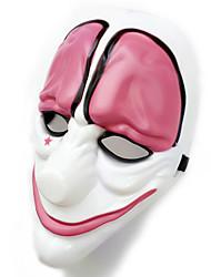Недорогие -Маски на Хэллоуин Маскарадные маски пластик ПВХ Джокер Персонаж фильма Ужасы Взрослые