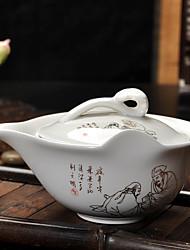 Недорогие -Чайник Повседневные / Чайный / Подарок Подарок,Керамика 1