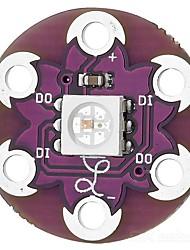cheap -CJMCU-LilyPad WS2812 Pixel Board LED Development Board - Purple