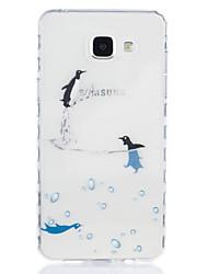 povoljno -Θήκη Za Samsung Galaxy A5(2016) / A3(2016) Prozirno / Uzorak Stražnja maska Životinja Mekano TPU za A5(2016) / A3(2016)