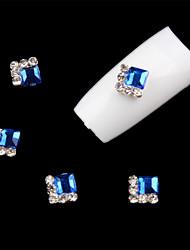 cheap -5 Pcs  Nail Art Decoration Rhinestone  Blue
