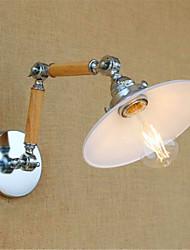 AC 220-240 4w E26/E27 Modern/Zeitgemäß Chrom Feature for LED / Birne inklusive,Ambientelicht Schwenkarm-Lichter Wandleuchte