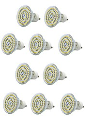 cheap -10pcs 300-400lm E14 GU10 E26 / E27 LED Spotlight MR16 60 LED Beads SMD 3528 Waterproof Decorative Warm White Cold White 220-240V