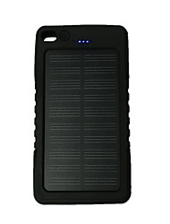 cheap -Ismartdigi MPSB-12000 8000mAh Solar Recharger Power Bank with Flashlight for Cell Phone