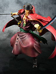 cheap -Anime Action Figures Inspired by One Piece Roronoa Zoro PVC 23cm CM Model Toys Doll Toy