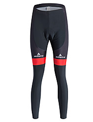 cheap -Miloto Cycling Tights Women's Bike Tights Tracksuit Bottoms Polyester Coolmax Fleece Lycra Silicon Bike Wear 3D Pad Thermal / Warm Quick