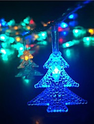 cheap -40-LED 5M Star Light Waterproof Plug Outdoor Holiday Decoration Light LED String Light