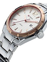 cheap -CURREN® military clock men Analog Display Date Men'S Quartz Watch Casual Watch Men Watches Relogio Masculino montre homme