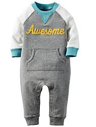 Baby Casual/Daily Print Hoodie & Sweatshirt,Cotton Spring Fall-