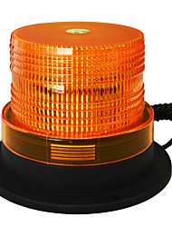 cheap -Jiawen 5 Inch Magnet to attract Strobe Light  LED Amber  Flash Warning light Emergency Light DC 12V Waterproof