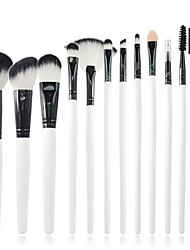 cheap -12 Makeup Brushes Synthetic Hair Professional / Portable Wood Face/Eye / Lip