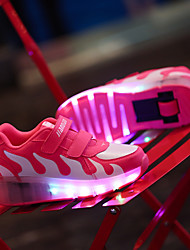 cheap -LED Light Up Shoes,Kid Boy Girl Roller Shoes / Ultra-light Single Wheel Skating / Athletic / Casual
