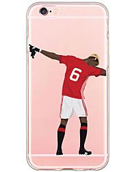 Per iPhone X iPhone 8 iPhone 6 iPhone 6 Plus Custodia iPhone 5 Custodie cover Fantasia/disegno Custodia posteriore Custodia Cartoni