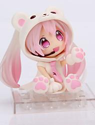 billiga -Anime Actionfigurer Inspirerad av Cosplay Snow Miku pvc 14 cm CM Modell Leksaker Dockleksak