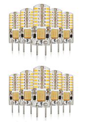 G4 Luci LED Bi-pin T 48 SMD 3014 140-160 lm Bianco caldo Luce fredda Bianco 3000-6000 K Impermeabile Decorativo V