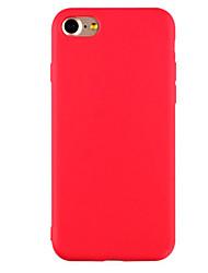 economico -Per iPhone X iPhone 8 iPhone 7 iPhone 7 Plus iPhone 6 Custodie cover Ultra sottile Effetto ghiaccio Custodia posteriore Custodia Tinta