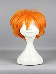 cheap -Popular New Anime Superfine Haikyuu!! Shoyo Hinata 30cm Short Orange Fashion High Quality Cosplay Wigs