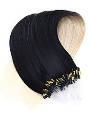 baratos -neitsi 20''50strands 1g / s micro anel de extensões de cabelo ligações de loop de 100% Remy cabelo humano t1-60 #